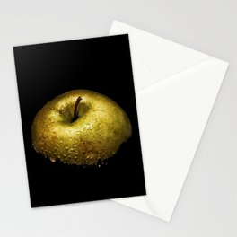 Golden Apple Wet Stationery Cards