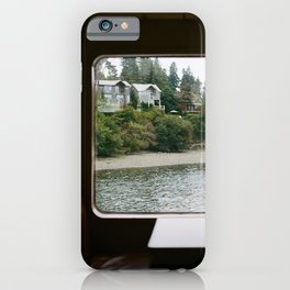 Ferry Ride to Bainbridge Island, WA iPhone Case