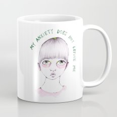 My anxiety does not define me Mug