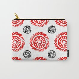 Sun mandala pattern Carry-All Pouch
