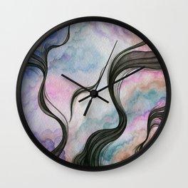 The Fleeting Demonic Fantasy Wall Clock