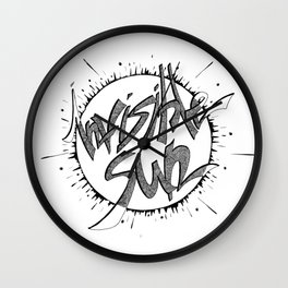 Invisible sun Wall Clock