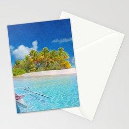 Polynesian paradise Stationery Cards