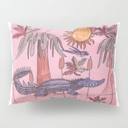 Swamp Hunt Pillow Sham
