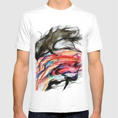 I want change Mens Fitted Tee MEDIUM White
