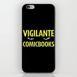 Vigilante Comicbooks iPhone Skin