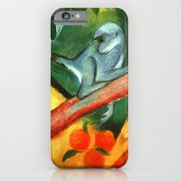 "Franz Marc ""The Little Monkey (Das Äffchen)"" iPhone Case"