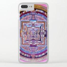 Kalachakra Sera - Mandala Clear iPhone Case