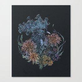 Pigeon lullaby Canvas Print