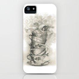 Tea bath iPhone Case
