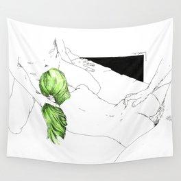 GreenHair Wall Tapestry