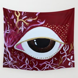 Golden wishes giving birth Wall Tapestry