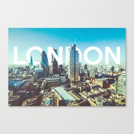 London Canvas Print