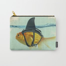 Brilliant DISGUISE - Goldfish with a Shark Fin Carry-All Pouch