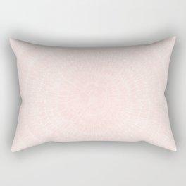 Pink Coral Tree Rings Rectangular Pillow