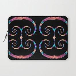 Rainbow Spirals Laptop Sleeve