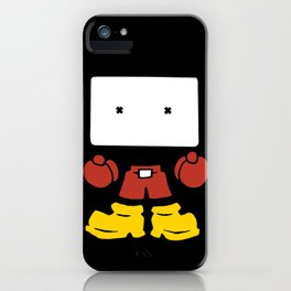 Bloc Hed iPhone Case