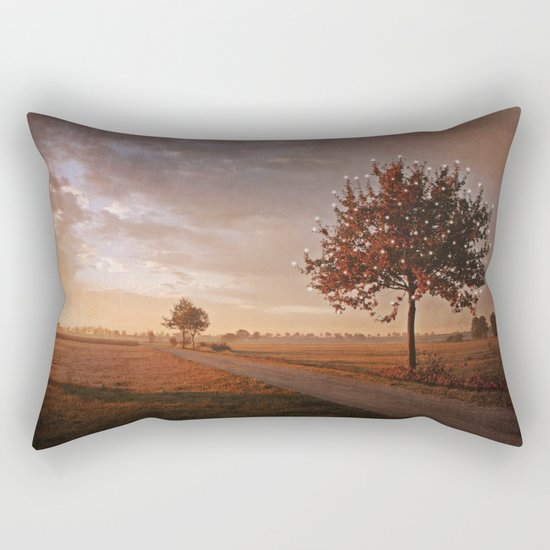 SONG OF THE OCTOBER BIRD Rectangular Pillow