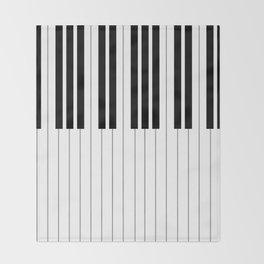 """Chopin - Prelude Op. 28 No. 15 """"Raindrop"""" Throw Blanket"""