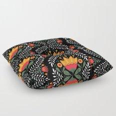 FOLK FLORA Floor Pillow