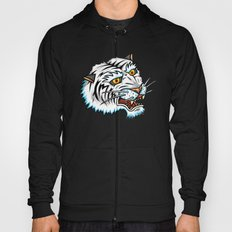 Traditional White Bengal Tiger Hoody