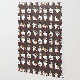 St. Bernard Yoga Wallpaper