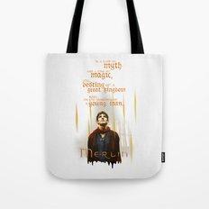 Merlin: Myth and Magic Tote Bag