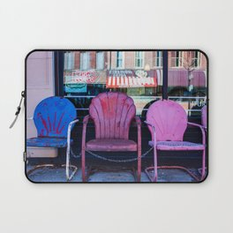 Chairs, from my street photography collection Laptop Sleeve