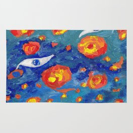 Snails abyss Rug