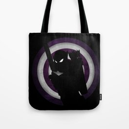 SuperHeroes Shadows : Hawkeye Tote Bag