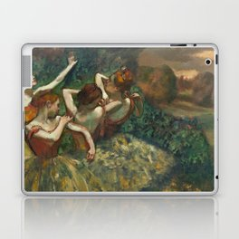 Edgar Degas - Four Dancers, 1889 Laptop & iPad Skin