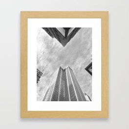 X Framed Art Print
