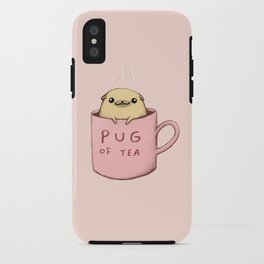 Pug of Tea iPhone Case