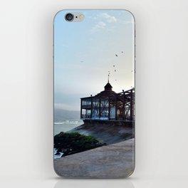 coastline afternoon iPhone Skin