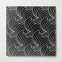 """Koloman (Kolo) Moser """"Textile pattern (Bogen)"""" (7) Metal Print"""