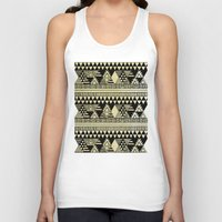 chic Tank Tops featuring Ethnic Chic by Louise Machado