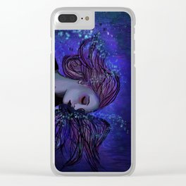 Ocean Embrace Clear iPhone Case