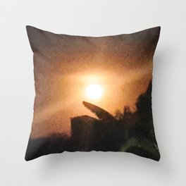 Cerrado Moonlight Throw Pillow