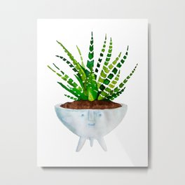 Spiked Plant Metal Print