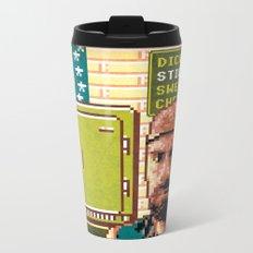 Dick Cream Stick Team Metal Travel Mug