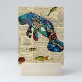 Magnificent Manatee Mini Art Print
