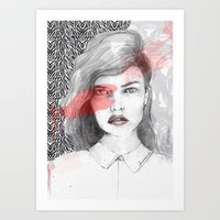 true blood Art Prints featuring true blood by semaiscan