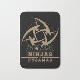 Ninjas in pyjamas! Counter strike team Bath Mat