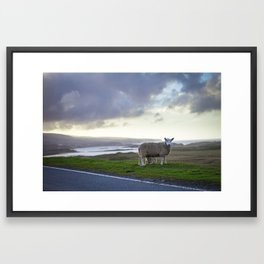 Roadside on Skye Framed Art Print