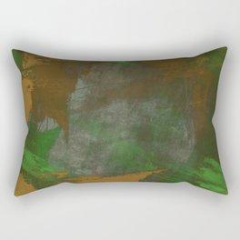 Camo Abstract Rectangular Pillow