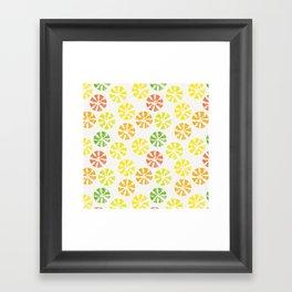 citrus Framed Art Print
