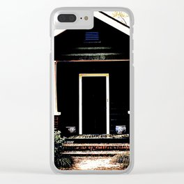 Side Stoop 975 Clear iPhone Case