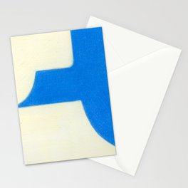 Driveway in Blue Stationery Cards