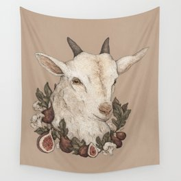 Goat and Figs Wall Tapestry