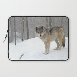 A lone wolf Laptop Sleeve